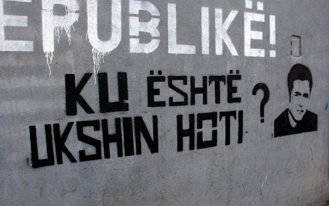 UKSHIN HOTI : 3ème partie, où est Ukshin Hoti ?